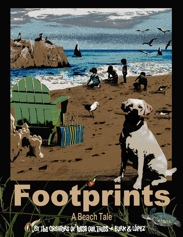 Footprints – A Beach Tale
