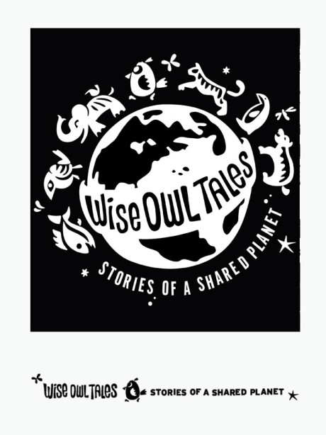 Wise Owl Tales Logo Coloring Page